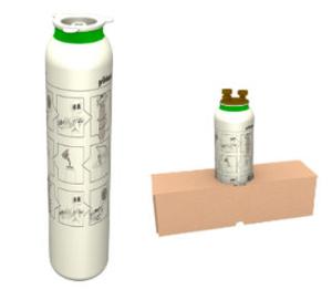 Einwegkartusche GENO-therm® für größere Heizsysteme