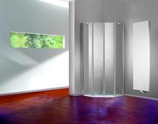 Hüppe 501 Design pure Duschabtrennung von Hüppe für eine barrierefreie Dusche.