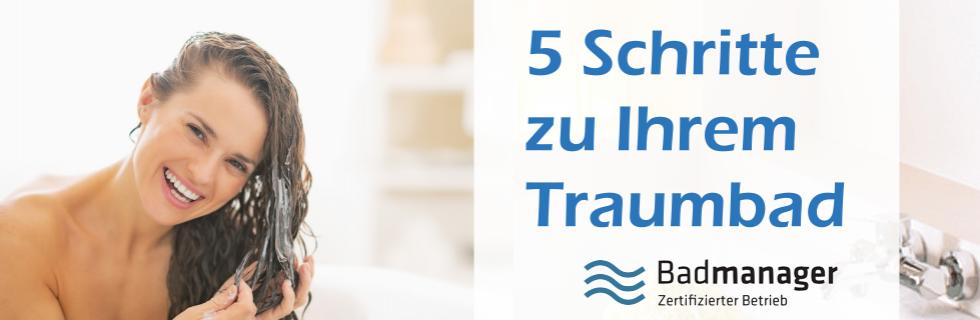 Badezimmer – 5 Schritte zu Ihrem Tarumbad