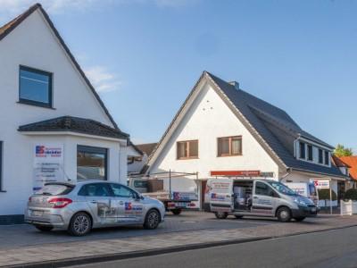 Badsanierung Hude durch Schröder Heizung Sanitär in Delmenhorst.